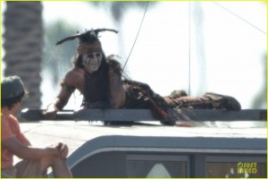 the lone rangger tonto johnny depp photo 2