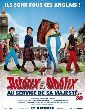 Astérix et Obélix au service de sa majesté