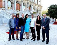 Skyfall Sam Mendes, Naomie Harris, Daniel Craig, Berenice Marlohe, Ola Rapace et les producteurs