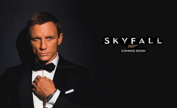 Skyfall James Bond s'annonce