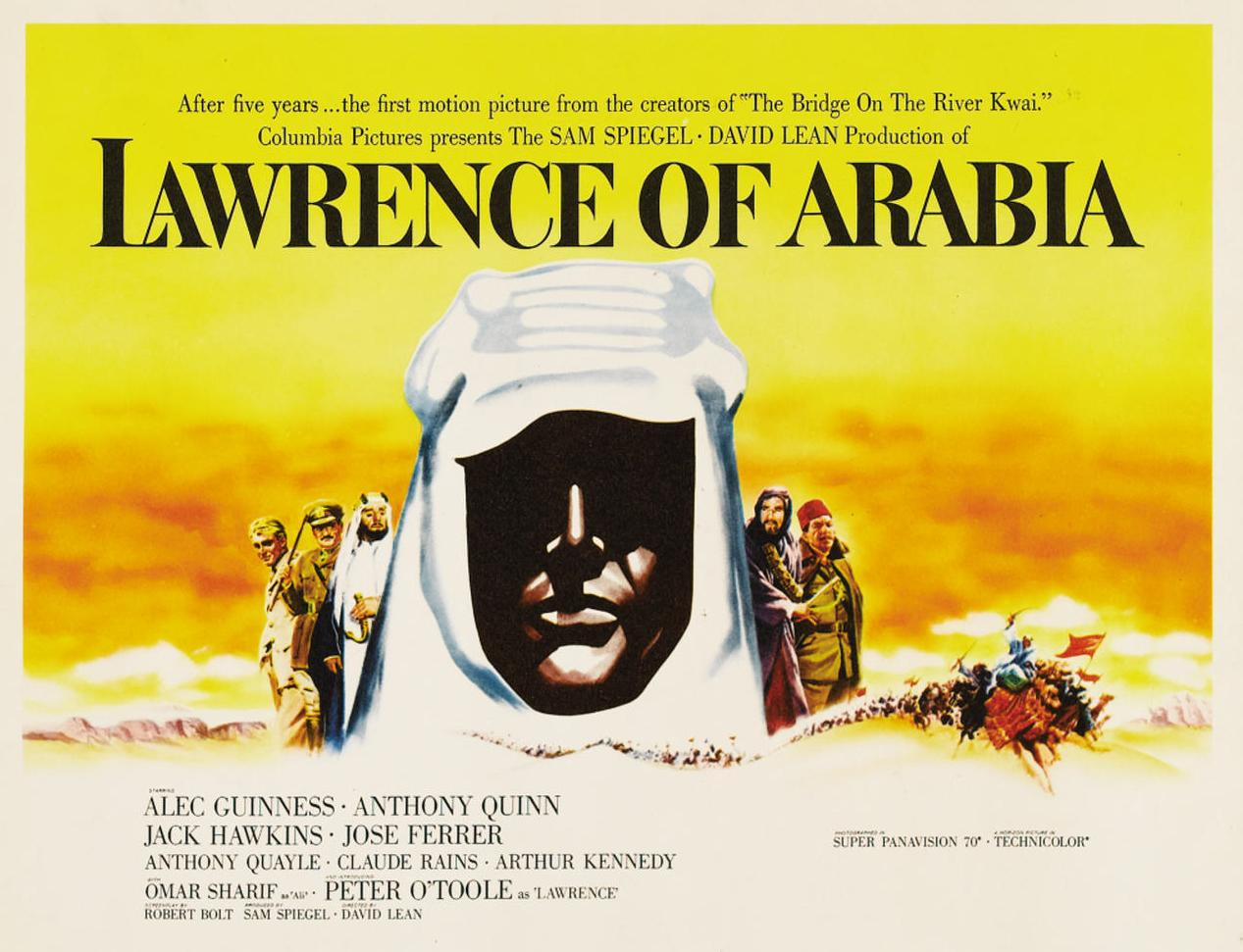 lawrence d'arabie poster