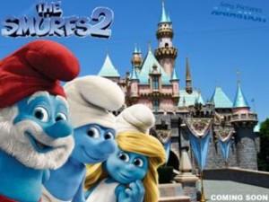 Les Schtroumpfs et Disney