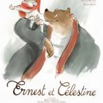 Ernest et Célestine - Affiche du film