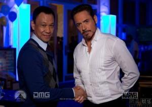 iron man 3 - Tony et Wu
