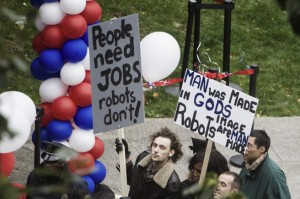 robocop - protestants