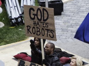 robocop - protestants