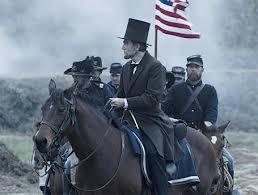 Lincoln sur un champ de bataille