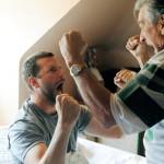 Patrick (Bradley Cooper) et son père (Robert de Niro)
