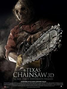 Texas chainsaw 3D - Affiche