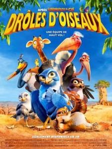 affiche - drôles d'oiseaux