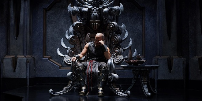 riddick - vin diesel sur son throne