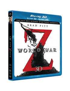 Blu-ray 3D - World War Z