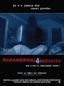Paranormal activity 4 : affiche du film | ciné buzz