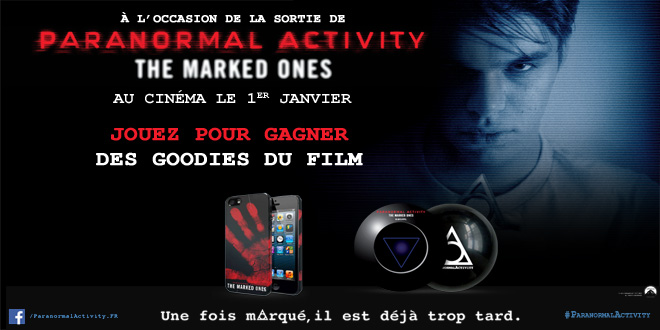 concours paranormal-activity marqued one