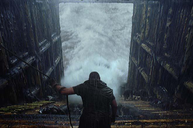 Noé dans son arche