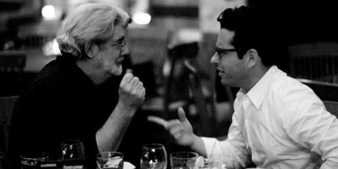 Georges Lucas & J. J. Abrams en désaccord artistique pour star wars 7