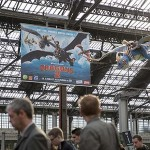 Dragons 2 - Les dragons envahissent la gare de Lyon Crédits photo : Pascal Montary