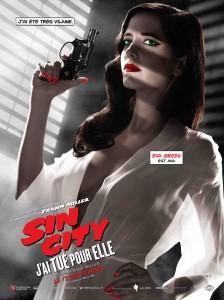 Eva - Affiche Sin City j'ai tué pour elle