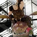 Dragons 2 - Les dragons envahissent la gare de Lyon Crédits photo : Pascal Montary