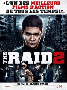 the raid 2 - affiche