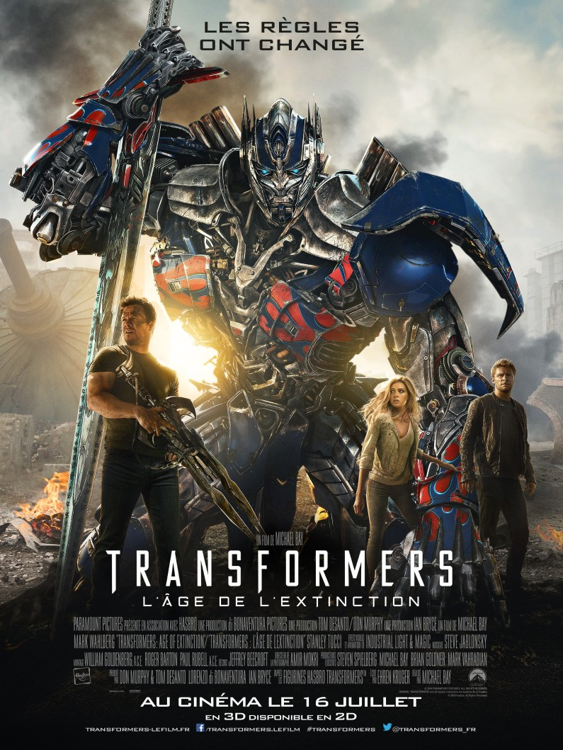 transformers 4 l'age de l'extinction