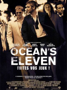 affiche - ocean's eleven
