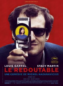 le redoutable affiche