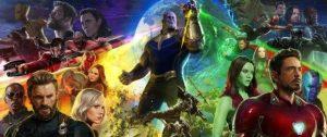 Au cinéma le 25 avril 2018 Thanos et l'Ordre Noir au milieu des Avengers sur un premier concept art