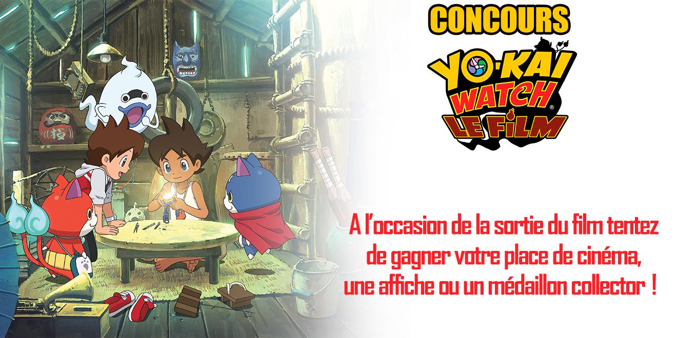 CONCOURS YO-KAI WATCH, LE FILM