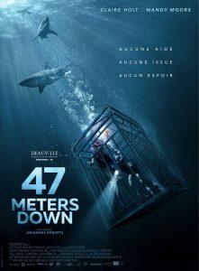 47 Meters Down avec Claire Holt et Mandy Moore